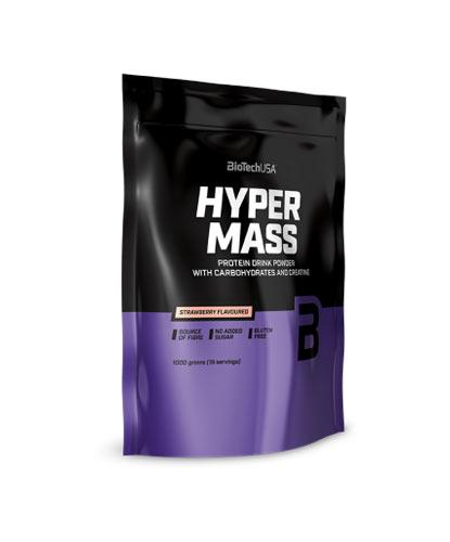 Πρωτεΐνη με υδατάνθρακα και κρεατίνη HYPER MASS (1Kg) - Fitius.gr