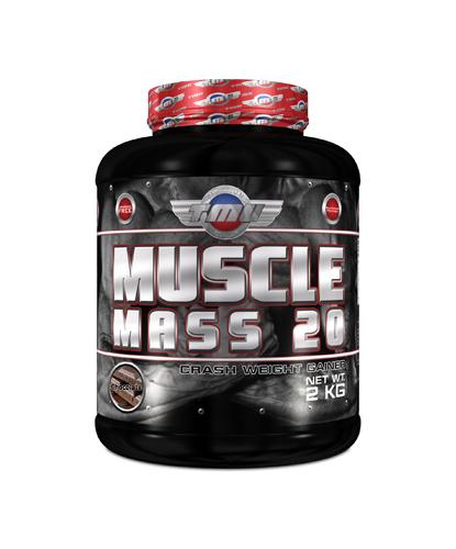 Πρωτεΐνη TMU MUSCLE MASS 20 (2.000 gr)