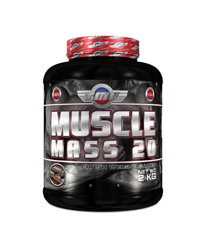 TMU MUSCLE MASS 20 (2.000γρ)